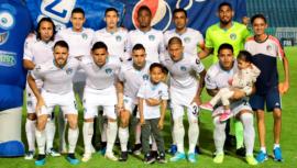 Alineación de Comunicaciones en el partido vs. América, Concachampions 2020