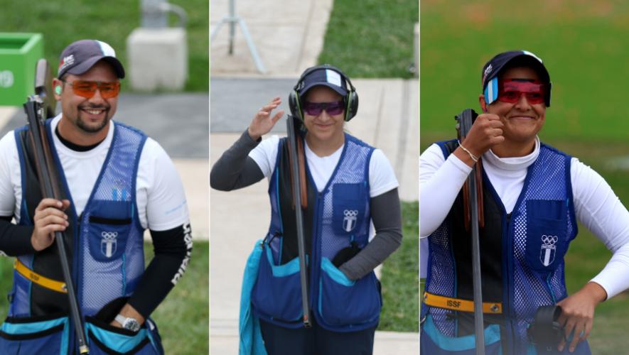Así se prepara el equipo de tiro de Guatemala rumbo a los Juegos Olímpicos de Tokio 2020 fb
