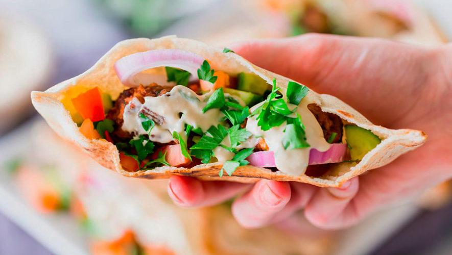 Bazar de comida árabe en Pasos y Pedales   Febrero 2020