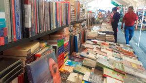 Bazar escolar y feria del libro en el Parque Central | Febrero 2020