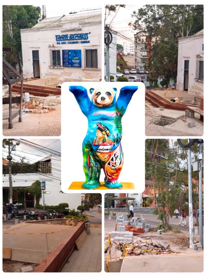 Buddy Bear guatemalteco estará expuesto en la Plaza de la Amistad en la Ciudad de Guatemala