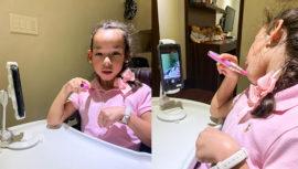 Christa García-Merlos, la niña con discapacidad que quiere ser maquillista y youtuber