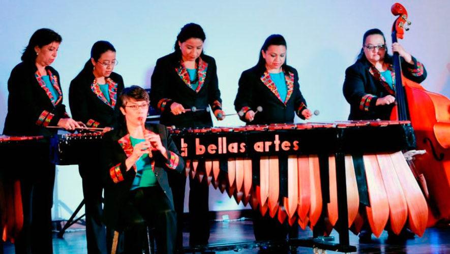 Concierto de gala con música de marimba en el Teatro Nacional | Febrero 2020