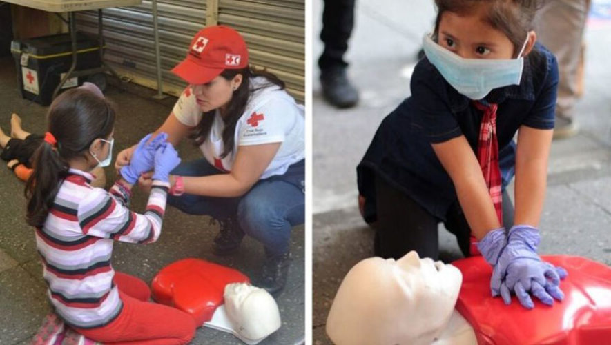Curso de primeros auxilios para niños | Marzo 2020