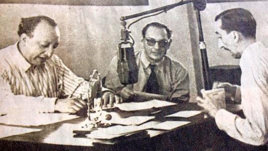 El primer programa de radio en Guatemala