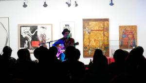 Fiesta gratuita y exposición de arte en la Alianza Francesa   Febrero 2020