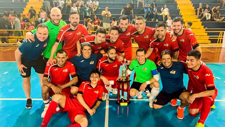 Glucosoral se proclamó campeón del Torneo Internacional Esparza 2020