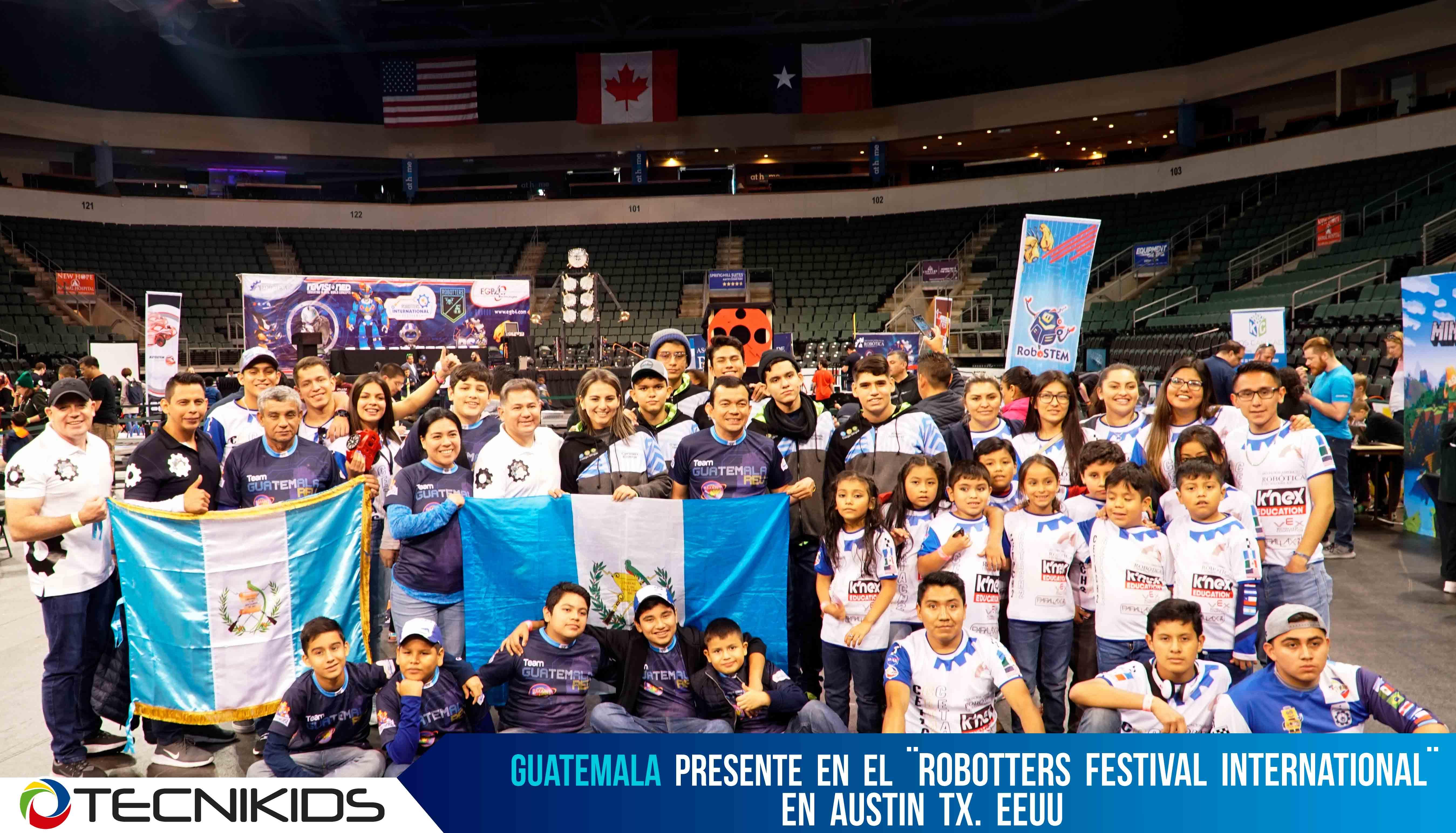 Guatemaltecos participaron en competencia de robótica
