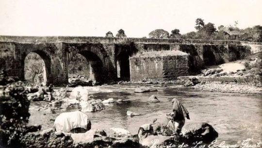 """Historia del puente """"Los Esclavos"""" en Santa Rosa"""