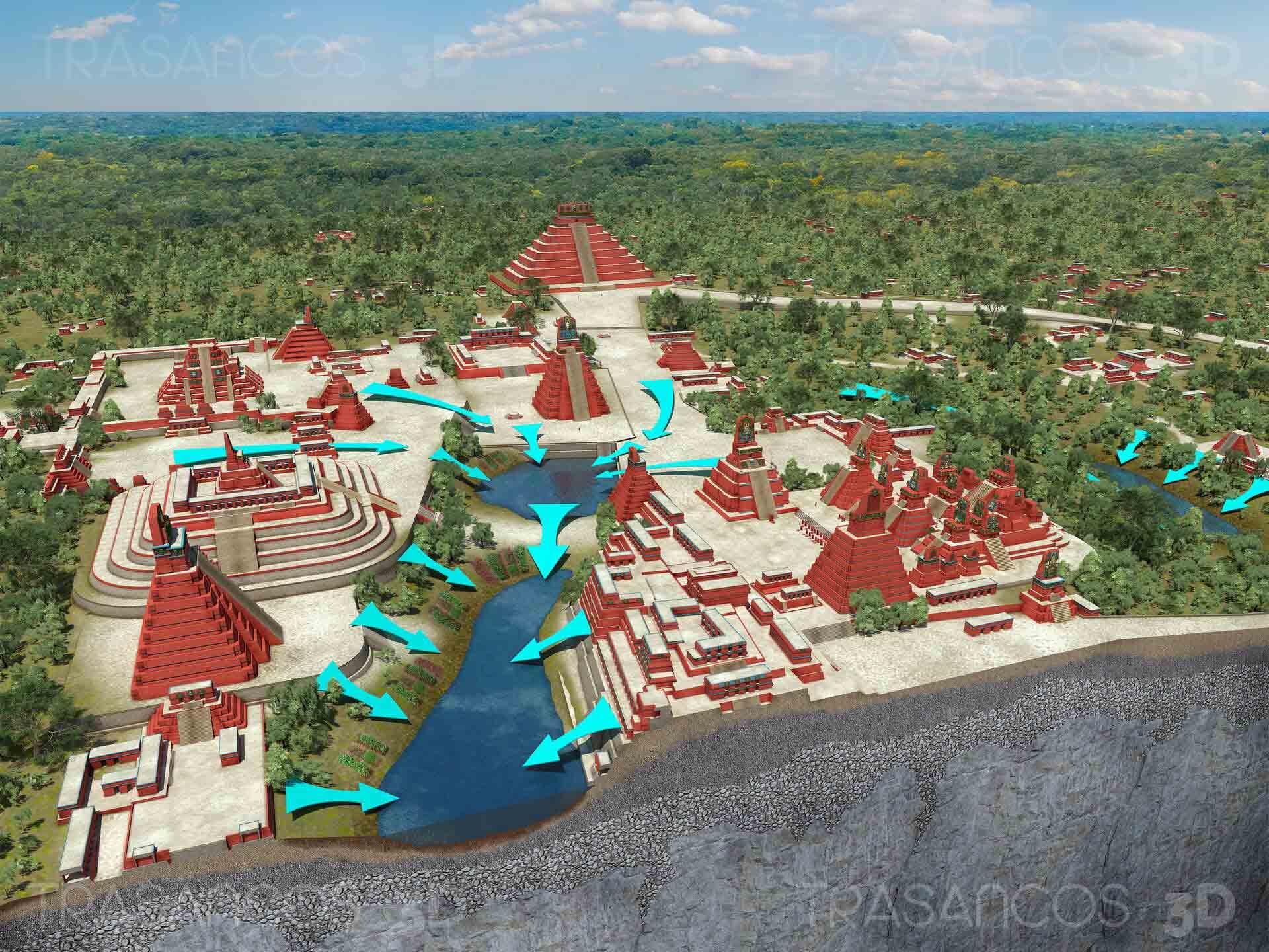 Imágenes en 3D de Tikal destacan en revista de Historia de Nat Geo España