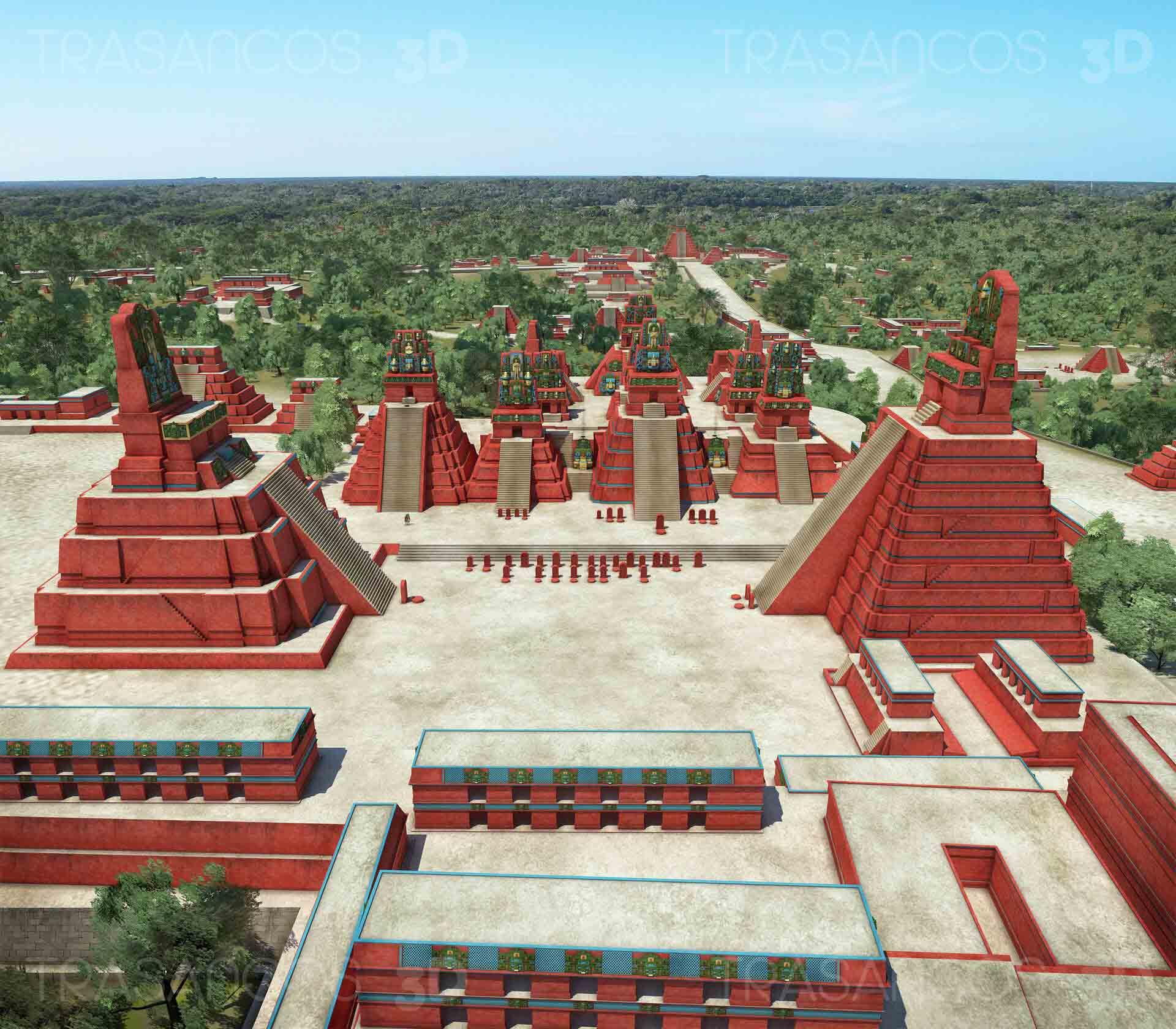 Imágenes en 3D de Tikal destacan en revista de Historia de Nat Geo