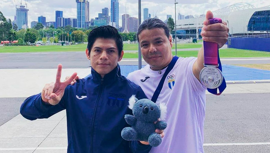 Jorge Vega ganó medalla de plata en la final de salto de la Copa Mundial de Melbourne 2020
