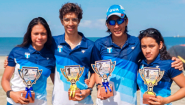 Jóvenes guatemaltecos conquistaron las medallas de la Copa Panamericana Junior 2020