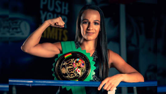 María Micheo venció a Maria Guadalupe Martínez en su segunda defensa del título WBC