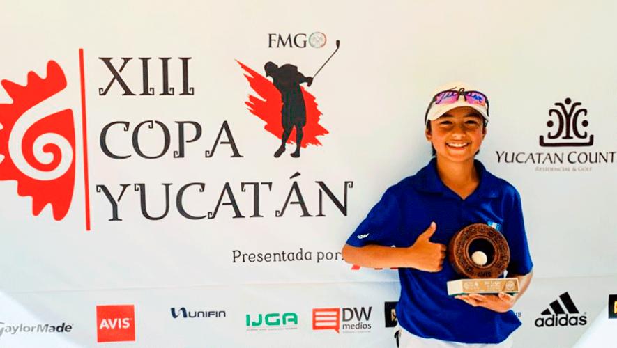 Matías Calderón colocó a Guatemala en el podio de la XIII Copa Yucatán 2020