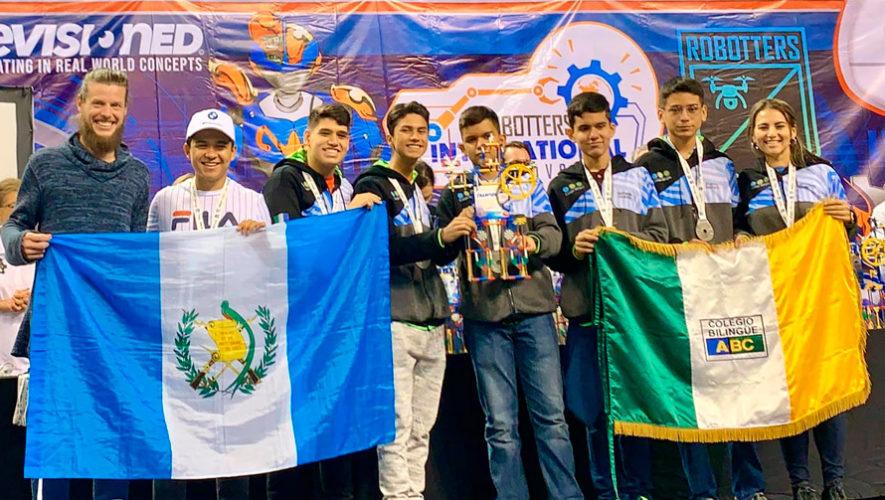 Originarios de Izabal ganaron primer lugar en Robotters International Festival 2020