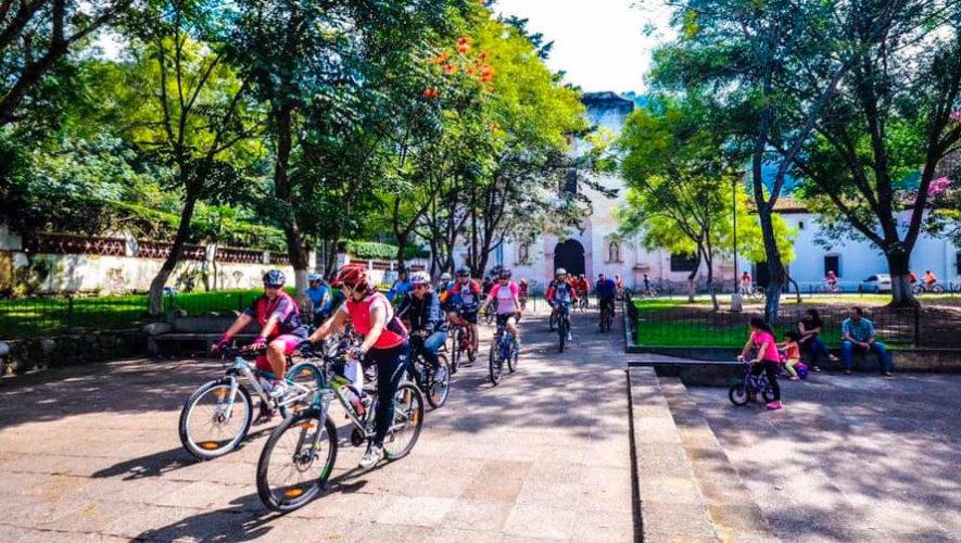 Recorrido en bicicleta en Antigua Guatemala | Marzo 2020