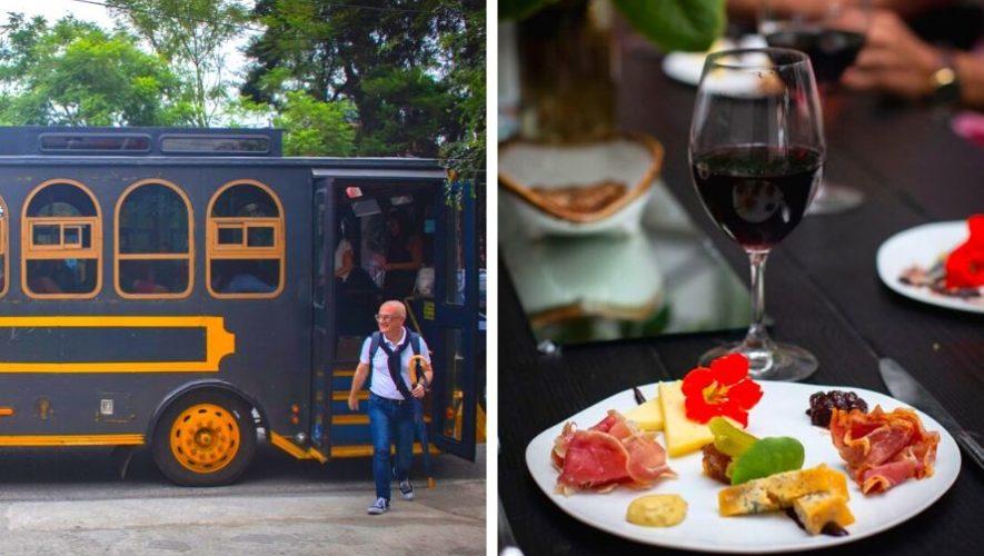 Recorrido gastronómico en trolley por la Ciudad de Guatemala | Marzo 2020