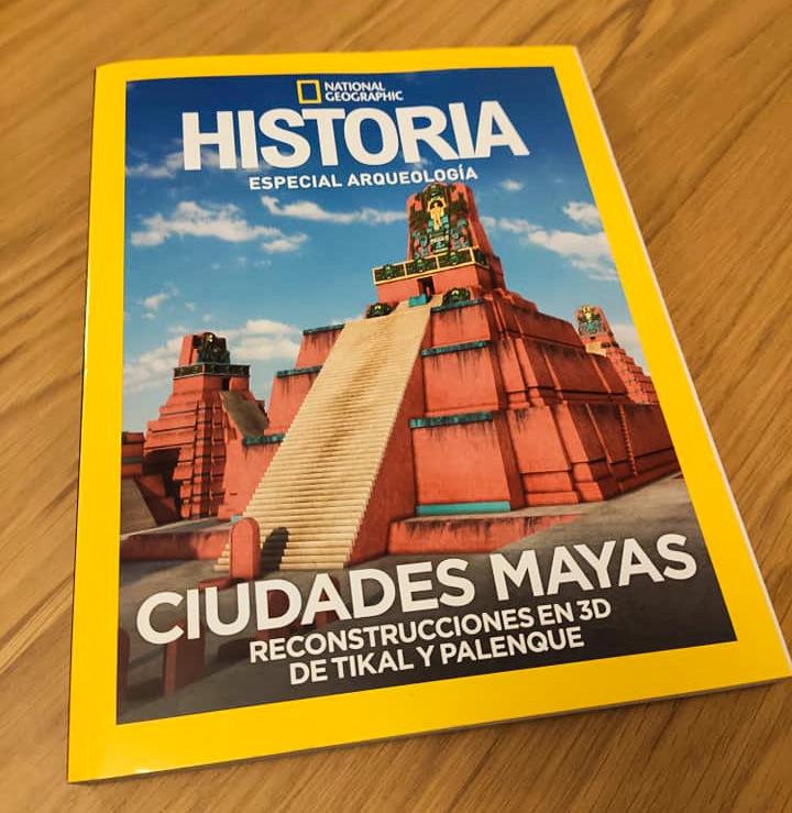 Revista de Nat Geo de Tikal