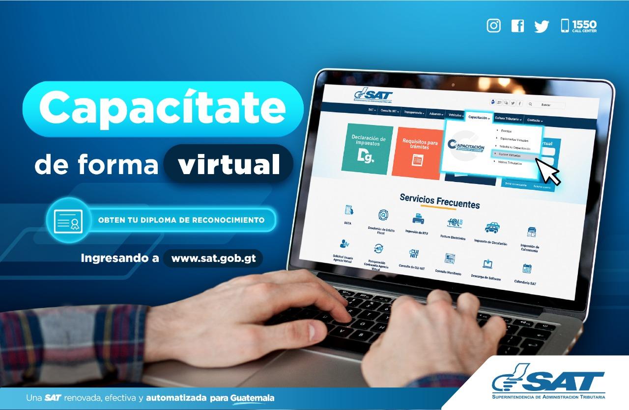 SAT ofrece 36 cursos virtuales gratuitos durante febrero 2020