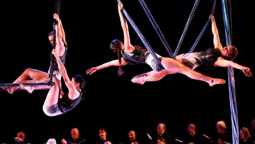 Show gratuito de danza aérea con música en vivo | Febrero 2020