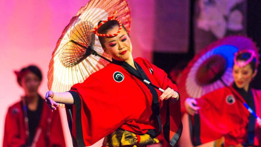 Show gratuito de danza japonesa en Quetzaltenango | Febrero 2020