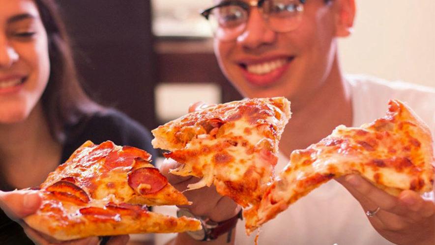 Todo lo que puedas comer de pizza en Zona 9 | Febrero 2020