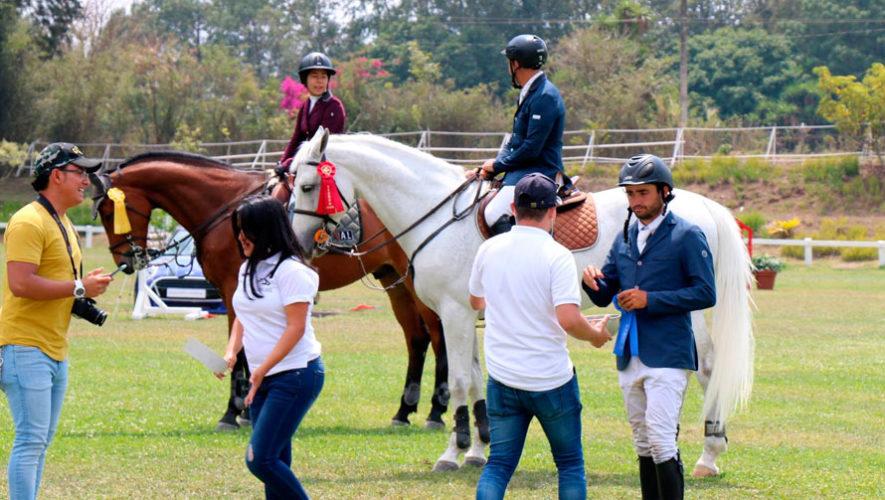 Torneo de equitación en San José Pinula   Febrero 2020