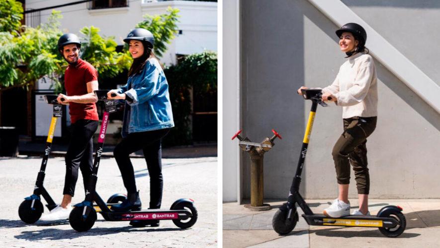 patinetas eléctricas son la nueva opción de transporte en Guatemala