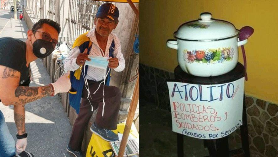 Las buenas acciones de los guatemaltecos ante la emergencia del COVID-19