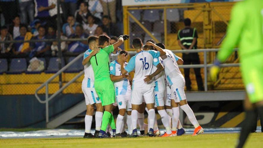Alineación de Guatemala para el partido amistoso vs. Panamá, marzo 2020