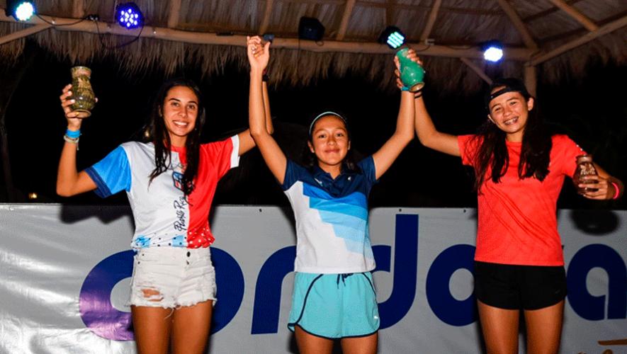 Bivian Díaz fue la ganadora de la Copa Panamericana de Playa Hermosa 2020