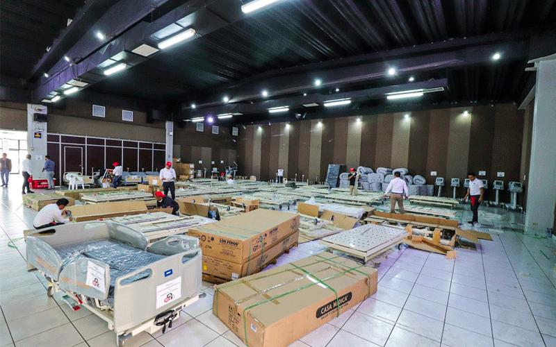 COVID-19: Cerveza Gallo dona $1 millón para equipar uno de los centros de cuarentena en Guatemala