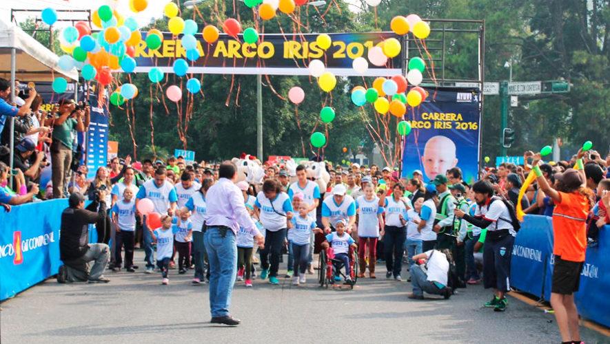 Carrera Arco Iris a beneficio de niños con cáncer de Fundación Ayuvi | Marzo 2020