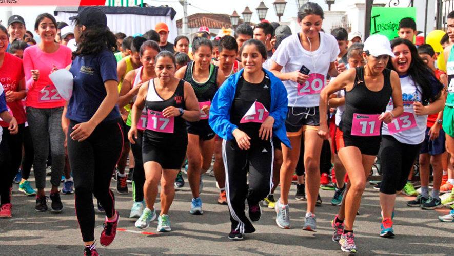 Carrera gratuita por el Día Internacional de la Mujer en Fraijanes | Marzo 2020