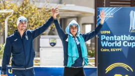 Charles y Sofía se quedaron con el cuarto lugar de la Copa Mundial El Cairo 2020