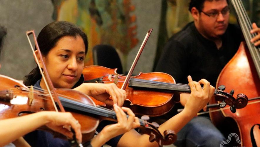 Concierto de la Orquesta Sinfónica Nacional cerca de Antigua Guatemala | Marzo 2020