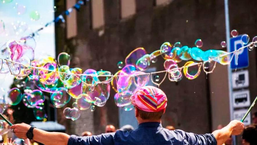 Día de burbujas en Zona 10 | Marzo 2020