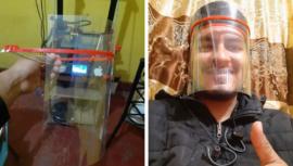 En Quetzaltenango fabrican mascarillas que donarán a profesionales de salud