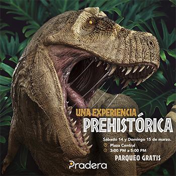 Encuentro prehistórico gratuito de Pradera Vistares 5