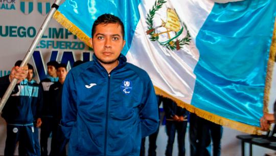 Gersson Mejía fue nominado a mejor paratleta de América, febrero 2020