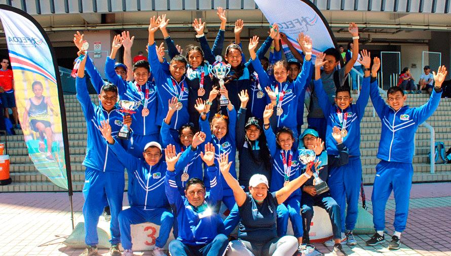 Guatemala conquistó 7 oros del VIII Campeonato Centroamericano de Marcha 2020