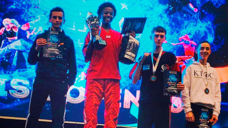 Guatemala ganó 10 medallas en el Irish Open 2020 de Kickboxing