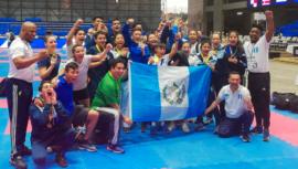 Guatemala se quedó con 27 medallas del Campeonato Centroamericano CCONDEKA 2020