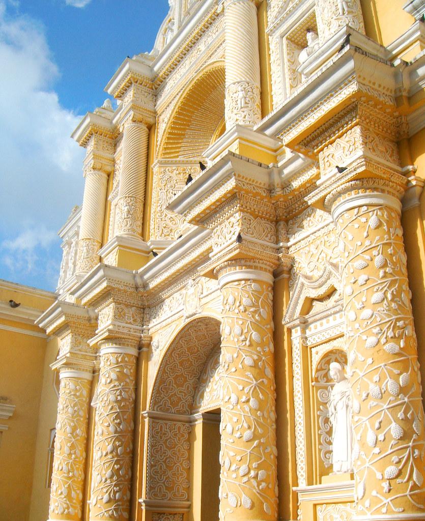 Iglesia La Merced en Antigua Guatemala