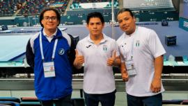 Jorge Vega se clasificó a la final de salto de la Copa Mundial de Bakú 2020