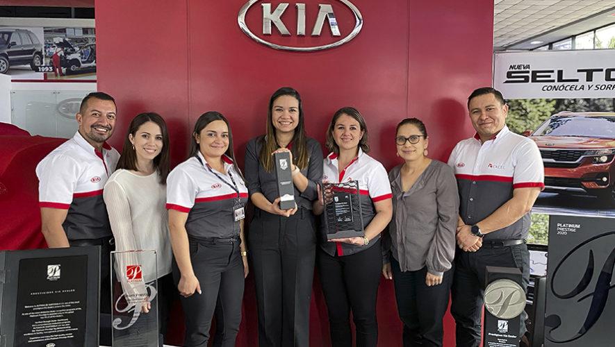 KIA Motors Guatemala recibe el premio Platinium Prestige Dealer Award 2020 3