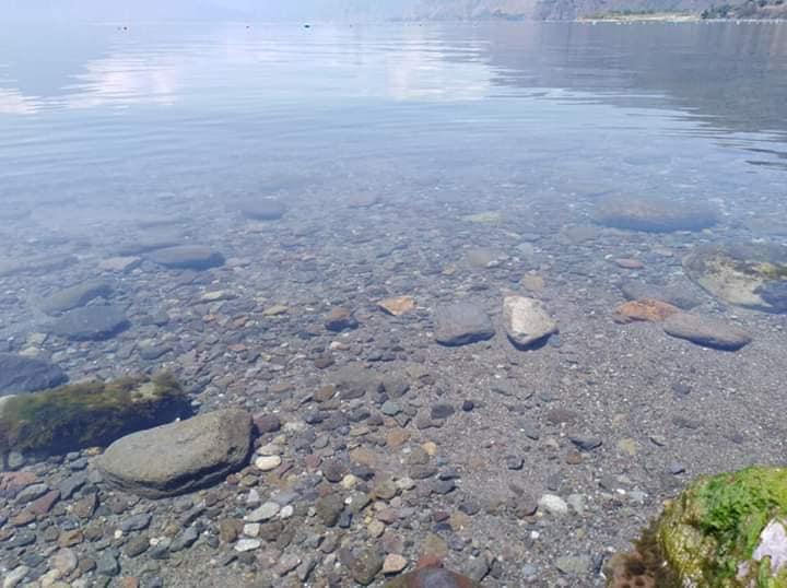 Lago de Atitlán agua