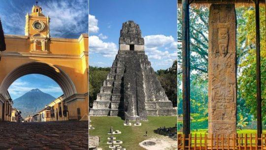 Lugares declarados Patrimonio Cultural de la Humanidad en Guatemala