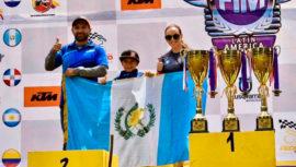 Nicolás Guzmán se proclamó campeón de la Copa Latinoamericana de Minicross 2020